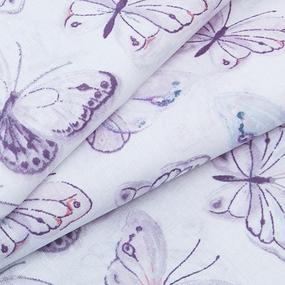 Ткань на отрез перкаль 150 см 8954/1 Бабочки фото