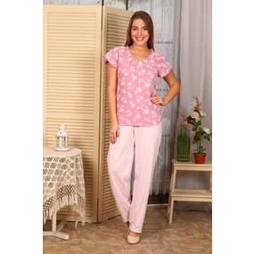 Пижама Лада Брюки Светло Розовые Б4 п р 42 фото
