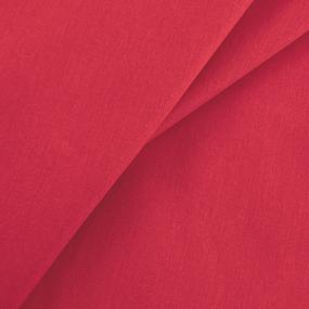 Бязь гладкокрашеная ГОСТ 150 см цвет красный фото