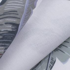 Ткань на отрез поплин 220 см 115 г/м2 28293/2 Эдем серый фото
