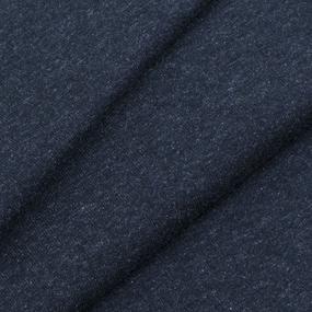 Ткань на отрез футер петля с лайкрой Антрацит фото