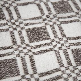 Одеяло байковое 170/200 цвет коричневый фото