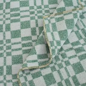 Одеяло байковое детское 100/140 цвет зеленый фото