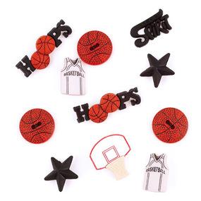Набор декоративных элементов JESSE JAMES 0421 Баскетболл 1 упак фото
