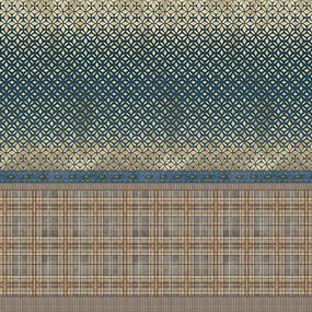 Бязь Премиум 220 см набивная Тейково рис 6888 вид 1 Шардон фото