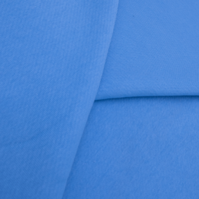 Ткань на отрез футер 3-х нитка диагональный цвет бирюза фото