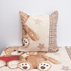Детское постельное белье из бязи 1.5 сп 479/4 Тедди фото