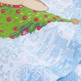 Набор вафельных полотенец 3 шт 45/60 см 3024/1 Мышкин дом фото
