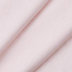 Ткань на отрез кулирка цвет бледно-розовый фото