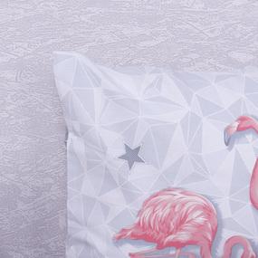 Наволочка Бязь 11233/1 Фламинго в упаковке 2 шт 70/70 см фото