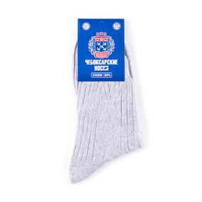Мужские носки ЧБ-1/4 Чебоксарские цвет светло-серый размер 31 фото