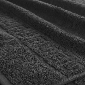 Полотенце махровое Туркменистан 50/90 см цвет черный фото