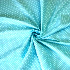 Бязь плательная 150 см 1590/7 цвет бирюза фото