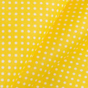 Бязь плательная 150 см 1590/8 цвет желтый фото