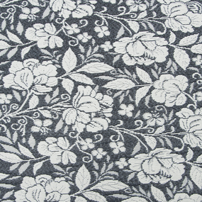 Гобелен Жаккард розы 230 см 1706-02 G-900 цвет темн-серый фото