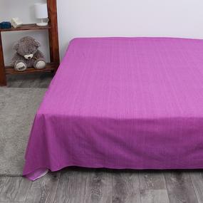 Простыня перкаль 2049312 Эко 12 пурпурный 2 сп фото