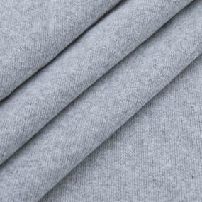 Ткань на отрез футер петля 20-07 цвет с.серый фото