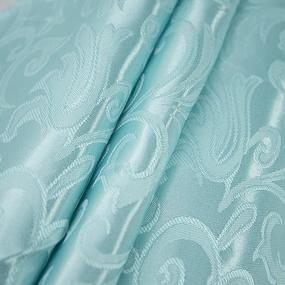 Портьерная ткань 150 см на отрез 100/2С цвет 76 мята фото