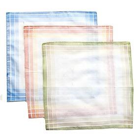 Платки носовые мужские 29х29 Амин расцветки в ассортименте 12 шт фото