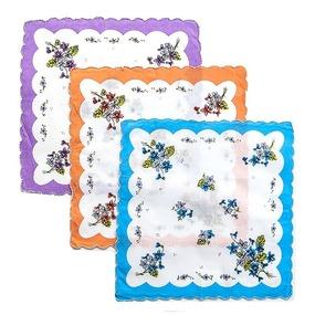 Платки носовые женские волнистые 45458Т 12 шт. фото