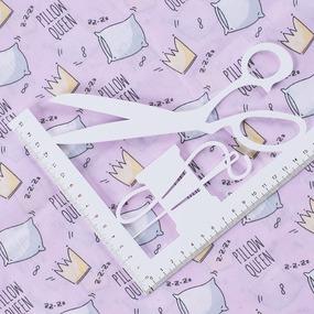 Маломеры поплин 150 см 1982/3 Королевские подушки цвет розовый 11 м фото