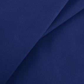 Бязь гладкокрашеная 120гр/м2 150 см цвет темно-синий фото