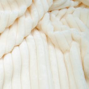 Ткань на отрез велсофт Orrizonte 300 гр/м2 200 см цвет экрю фото
