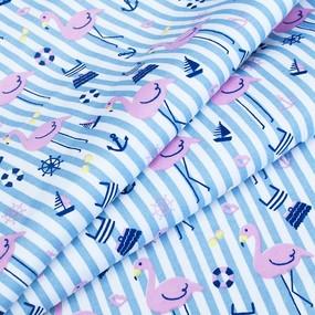 Ткань на отрез интерлок пенье Фламинго нью R333 фото