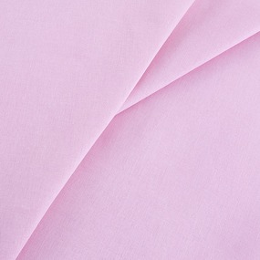 Бязь гладкокрашеная 120гр/м2 90 см на отрез цвет розовый фото
