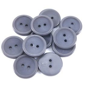 Пуговицы 20 мм цвет ХС23-6016/2 34 (384) упаковка 24 шт фото