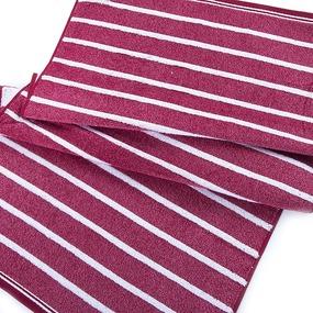 Полотенце махровое Sunvim 12-28 50/90 см цвет бордовый фото