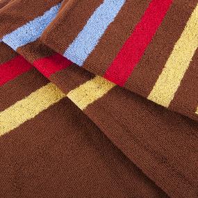 Полотенце махровое Sunvim 13В-8 34/110 см цвет шоколадный фото