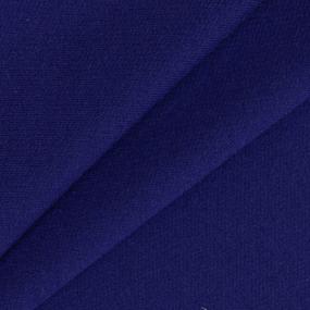 Ткань на отрез футер петля с лайкрой 17-12 цвет василек фото