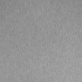 Ткань на отрез футер петля с лайкрой 19-12 цвет серый меланж 2 фото