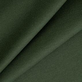 Ткань на отрез футер петля с лайкрой 22-12 цвет хаки фото