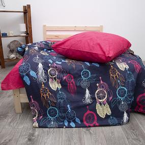 Постельное белье из поплина 70167/2 Ловец снов Семейный фото