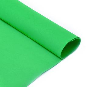 Фоамиран Magic 4 Hobby в листах арт.MG.N030 цв.ярко-зеленый, 1 мм 50х50 см фото