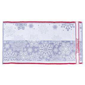 Полотенце махровое 4694 Снежный вальс-1 70/140 см фото