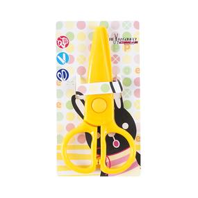 Ножницы детские пластик 12см фото