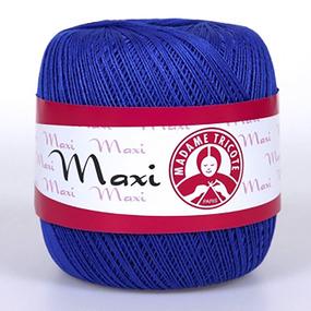 Пряжа Madame Tricote Maxi 100% хлопок 100 гр. 565м. цвет 6335 фото