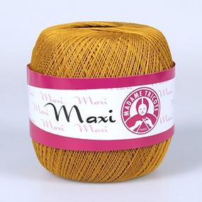 Пряжа Madame Tricote Maxi 100% хлопок 100 гр. 565м. цвет 6340 фото