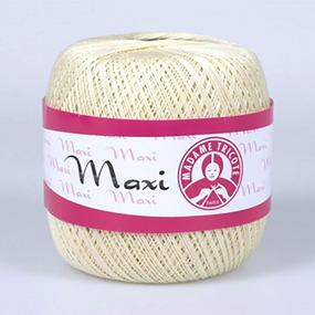 Пряжа Madame Tricote Maxi 100% хлопок 100 гр. 565м. цвет 6375 фото
