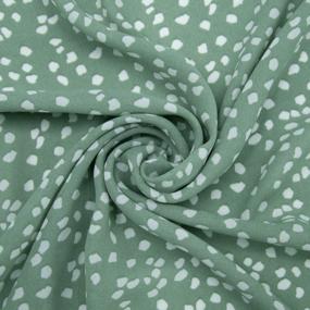 Ткань на отрез шифон 150 см 2250 Джи джи цвет зеленая мята фото