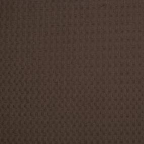 Ткань на отрез вафельное полотно гладкокрашенное 150 см 240 гр/м2 7х7 мм цвет шоколад 095 фото