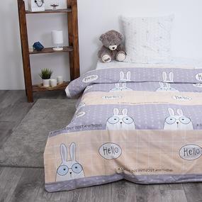 Детское постельное белье из поплина 1.5 сп Кроля 3060-1 фото