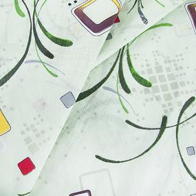 Бязь о/м 100 гр/м2 150 см 319/1 Вальс цвет зеленый фото
