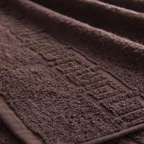 Полотенце махровое Туркменистан 70/140 см цвет коричневый Brownie фото