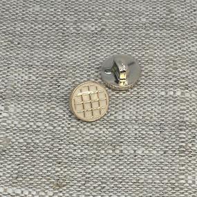 Пуговица ПР204 11 мм бежевая уп 12 шт фото