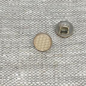 Пуговица ПР205 9 мм бежевая матовая уп 12 шт фото