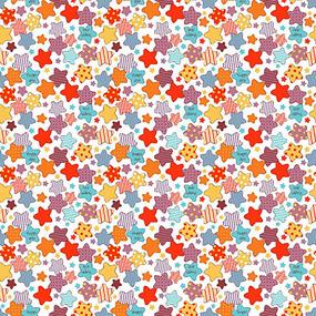 Ткань на отрез ситец 95 см 21212/1 Звездочки разноцветные фото